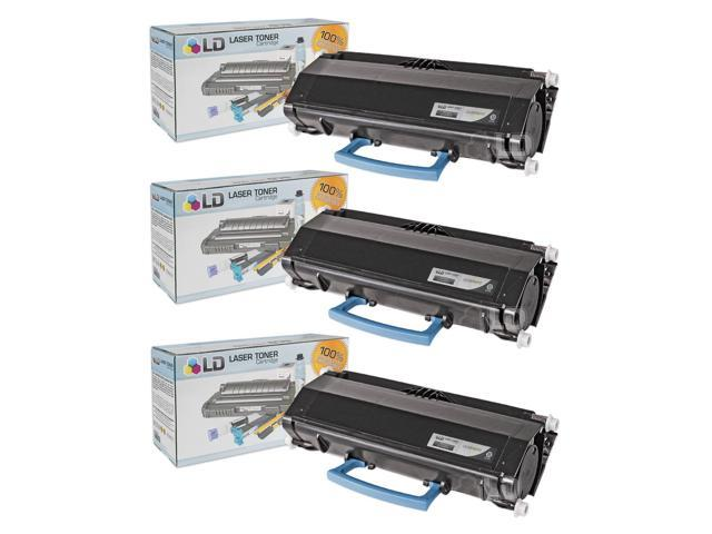 LD © Compatible Dell 330-5210 (U902R) Set of 3 Black Toner Cartridges for your Dell 3330dn Printers
