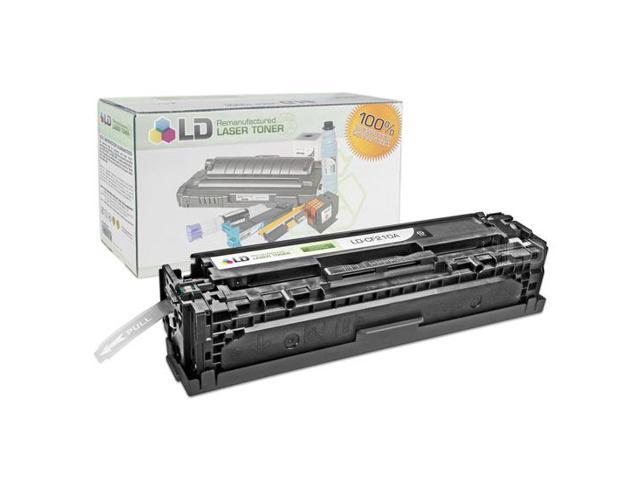 LD © Remanufactured Replacement for Hewlett Packard CF210A (HP 131A) Black Laser Toner Cartridge for use in HP LaserJet Pro 200 Color M251n, Color M276n, M251nw, and M276nw Printers