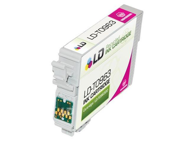 LD © Remanufactured Replacement for Epson T096320 (T0963) Vivid Magenta Ink Cartridge for Stylus Photo R2880
