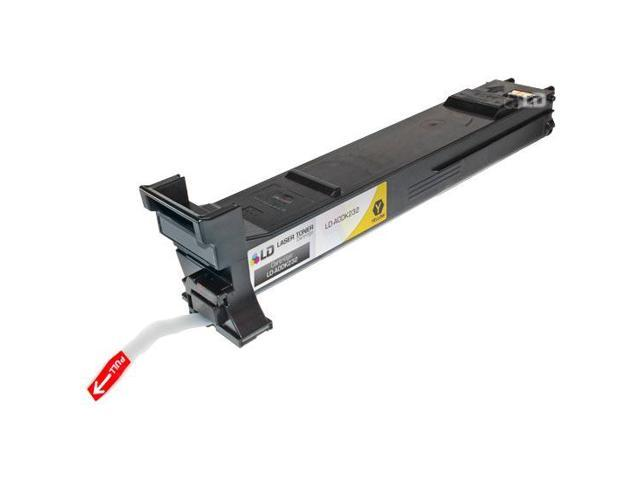 LD © Compatible Konica-Minolta A0DK232 Yellow Laser Toner Cartridge for MagiColor 4650
