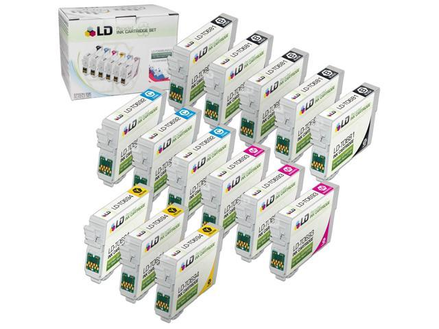 LD © Remanufactured Replacement for Epson T068/T069 14-Set Ink Cartridges: 5 T068120 Black & 3 each of  Cyan T069220 / Magenta T069320 / Yellow T069420