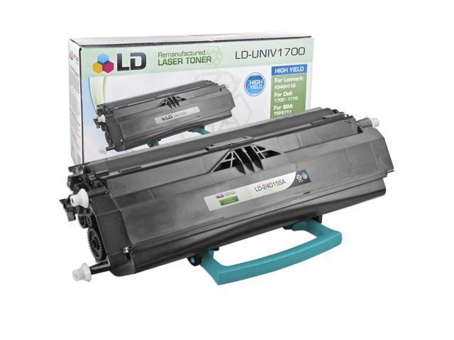 LD © Compatible Standard Yield Black Laser Toner Cartridge for Lexmark 24015SA
