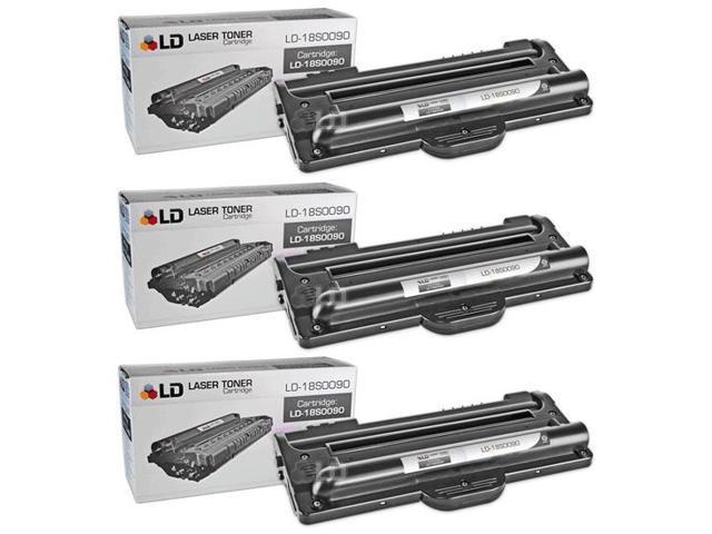 LD © 3 Lexmark 18S0090 Compatible Black Toner Cartridges