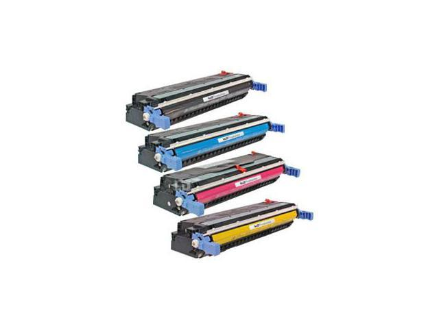 LD Remanufactured Replacement Laser Toner Cartridges for HP 645a (4 pack): 1 C9730A, C9731A, C9732A, C9733A for LaserJet 5500n, 5550hdn, 5500dtn, 5500, 5550dtn, 5500dn, 5550n, 5550, 5550dn, 5500hdn
