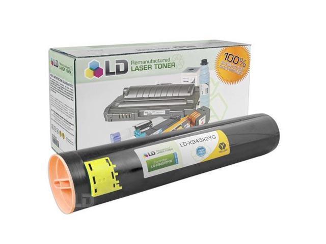 LD © Remanufactured High Yield Yellow Laser Toner Cartridge for Lexmark X945X2YG
