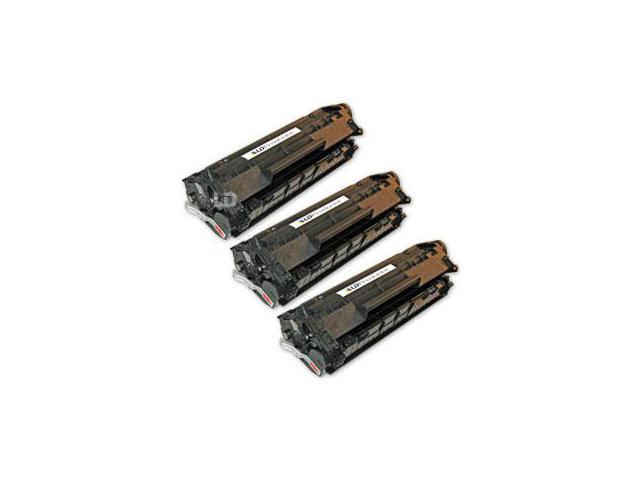 LD Remanufactured Replacement Laser Toner Cartridges for HP Q2612A (12A) Black (3 Pack) for LaserJet 3030, 1018, 1022n, 1012, 3055, M1319f, 3020, 1010, 3052, 1022nw, 3050, 1020, M1319, 3015, 1022