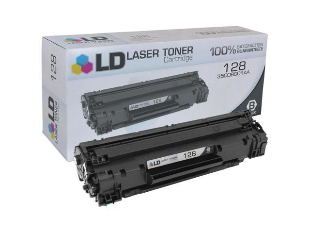 LD © Compatible Replacement for Canon 128 (3500B001AA) Black Laser Toner Cartridge for Canon FaxPhone and ImageClass Printers