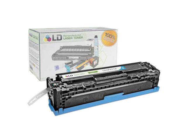 LD © Remanufactured Replacement for Hewlett Packard CF211A (HP 131A) Cyan Laser Toner Cartridge for use in HP LaserJet Pro ...