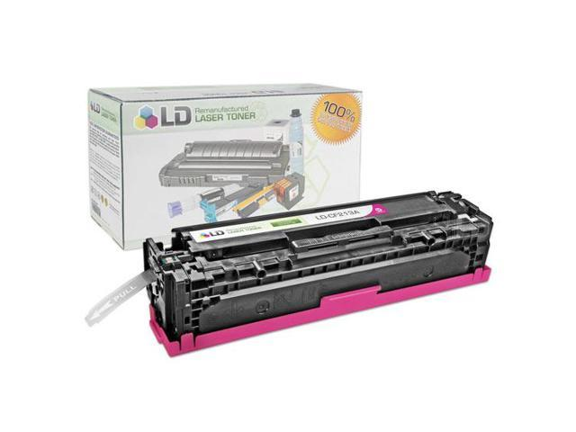 LD © Remanufactured Replacement for Hewlett Packard CF213A (HP 131A) Magenta Laser Toner Cartridge for use in HP LaserJet ...