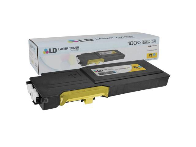 Compatible 4K Page Yellow Toner Cartridge (YR3W3) for Dell C2660dn C2665dnf Laser Printers