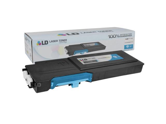 LD © Compatible Dell 593BBBTCTS 488NH (TW3NN) Cyan High Yield Toner Cartridge Includes: 1 593-BBBT Cyan for use in Dell Color ...