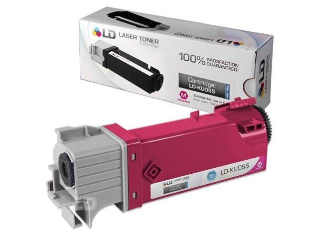 LD �� Compatible Toner to replace Dell KU055 (310-9064) High Yield Magenta Toner Cartridge for your Dell 1320c / 1320 Color Laser Printer