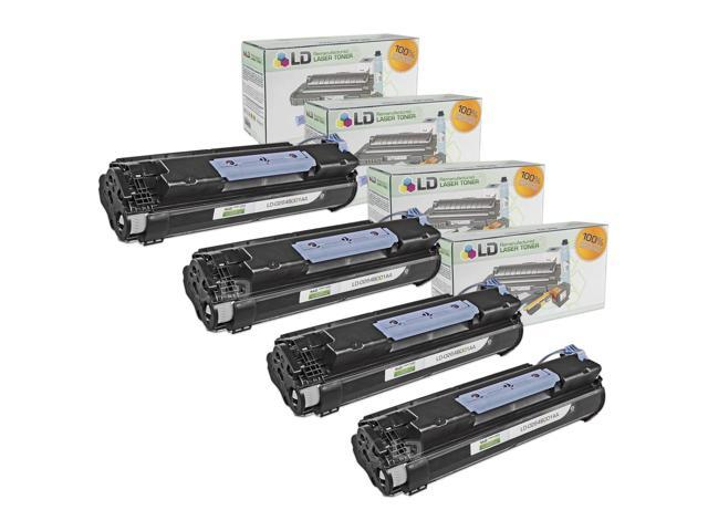 LD © Canon Compatible #106 (0264B001AA) Set of 4 Black Laser Toner Cartridges for use in the ImageClass MF6530, MF6540, MF6550, MF6560, MF6580, MF6590, MF6595, MF6595cx Printers