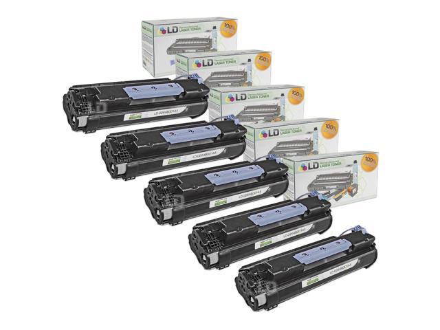 LD © Canon Compatible #106 (0264B001AA) Set of 5 Black Laser Toner Cartridges for use in the ImageClass MF6530, MF6540, MF6550, MF6560, MF6580, MF6590, MF6595, MF6595cx Printers