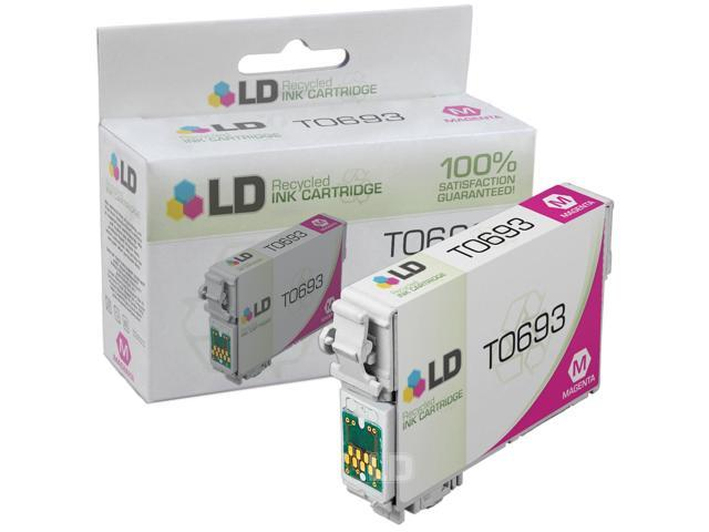 LD © Remanufactured Replacement for Epson T069320 (T0693) Magenta Ink Cartridge for use in Epson Stylus and Workforce Printers