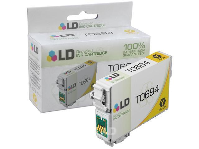 LD © Remanufactured Replacement for Epson T069420 (T0694) Yellow Ink Cartridge for use in Epson Stylus and Workforce Printers