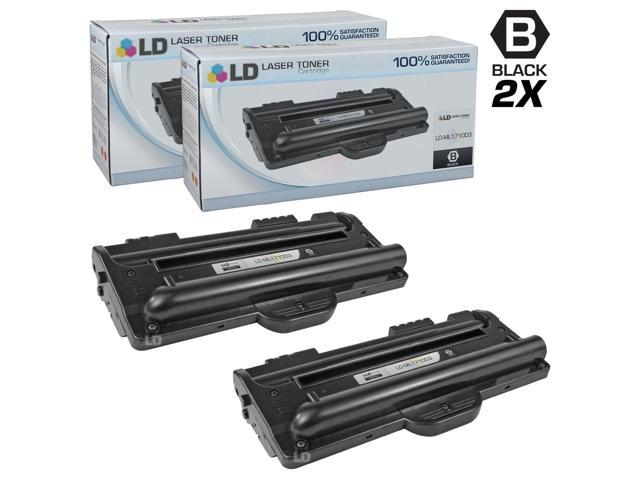 LD © Compatible Replacements for Samsung ML-1710D3 Set of 2 Black Laser Toner Cartridges for the Samsung ML 1500, 1510, 1510B, ...