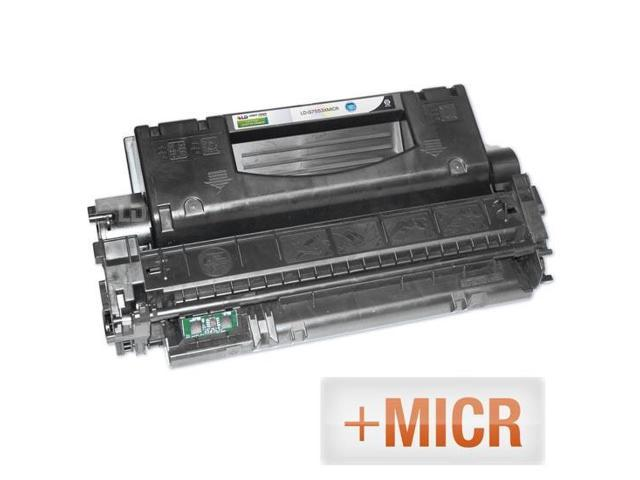 LD © (MICR Toner) Remanufactured Replacement Laser Toner Cartridge for Hewlett Packard Q7553X (HP 53X) High-Yield Black