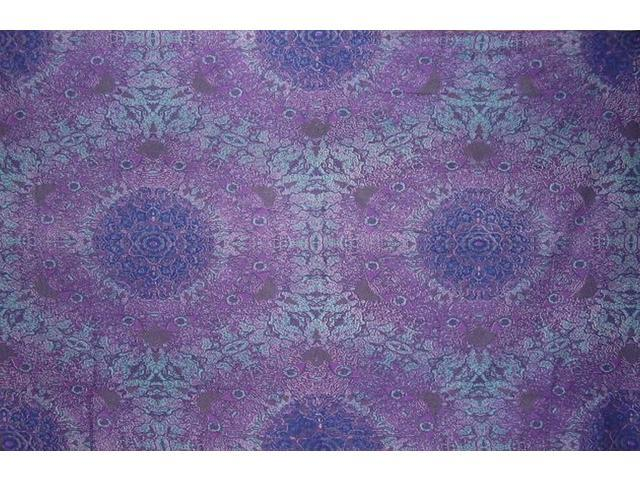 Wild Psychedelic Print Cotton Wall Hanging 90