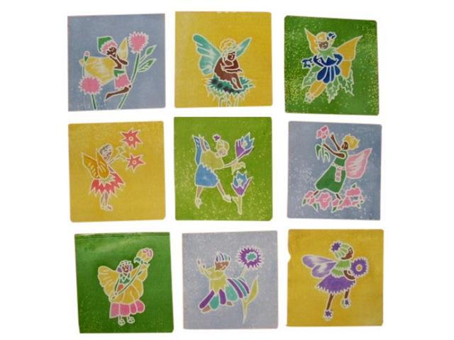 Authentic Cotton Batik Textile Art Packet Fairies 5