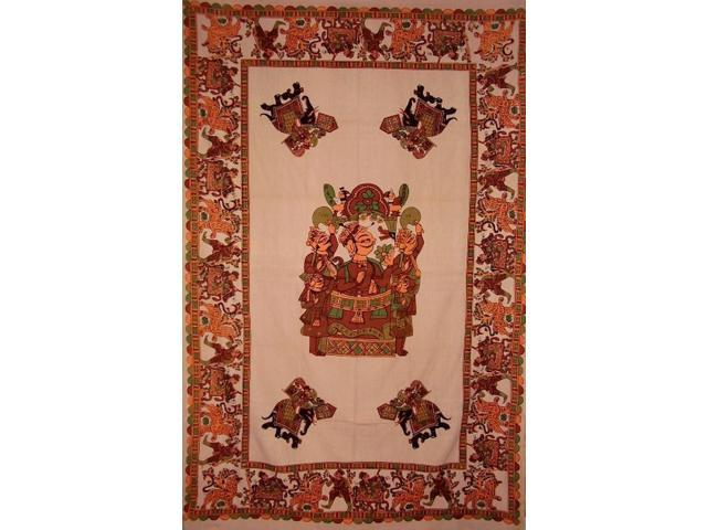 Tribesman Tapestry Cotton Wall Hanging 90