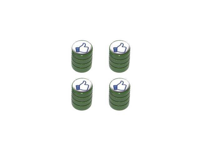 You Like This - Facebook - Tire Rim Valve Stem Caps - Green