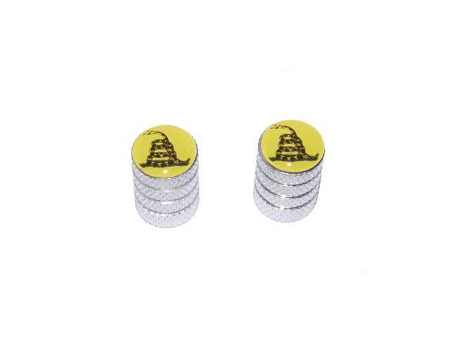 Gadsden Don't Tread On Me - Valve Stem Caps - Motorcycle Bike Bicycle - Aluminum
