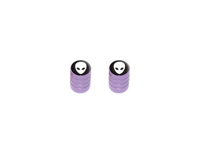 Alien - Tire Rim Valve Stem Caps - Motorcycle Bike Bicycle - Purple
