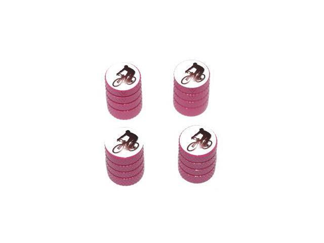 Cycling - Tire Rim Valve Stem Caps - Pink