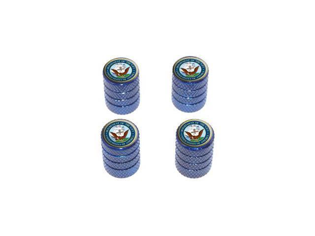 Navy Seal - United States Military - Tire Rim Wheel Valve Stem Caps - Blue