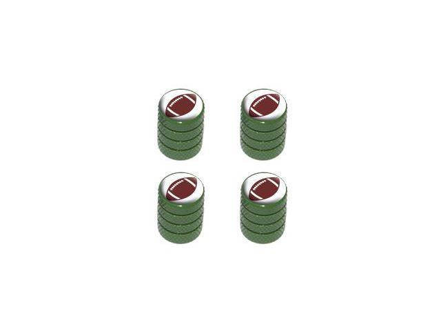Football - NFL Tire Rim Valve Stem Caps - Green