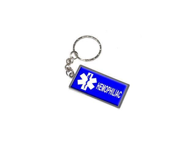 Hemophiliac Keychain Key Chain Ring