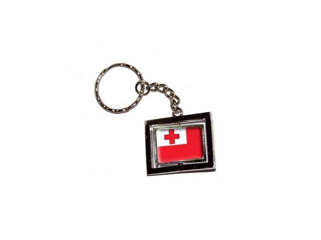Tonga Country Flag Keychain Key Chain Ring