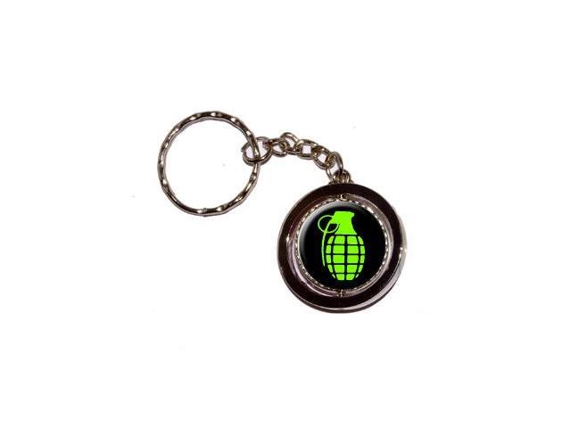 Grenade Keychain Key Chain Ring