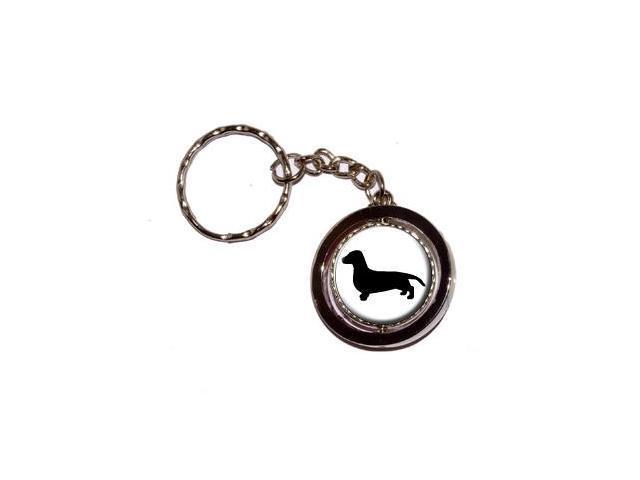 Dachshund - Dog Keychain Key Chain Ring