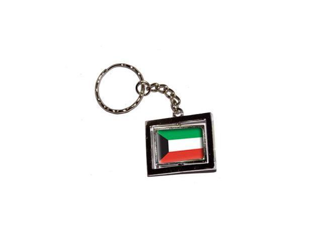 Kuwait Country Flag Keychain Key Chain Ring
