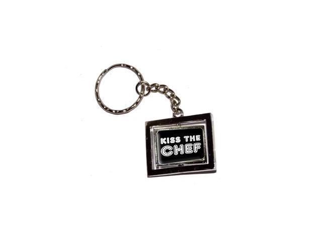 Kiss The Chef Keychain Key Chain Ring