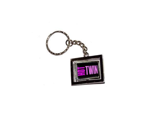 Hot Twin Keychain Key Chain Ring