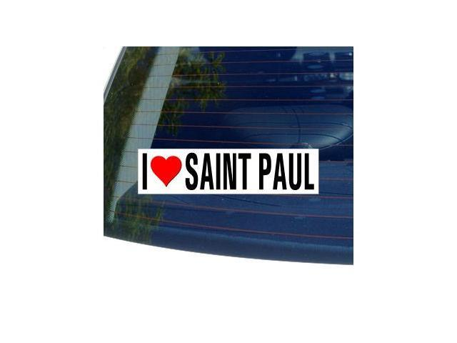 I Love Heart SAINT PAUL - Minnesota Sticker - 8