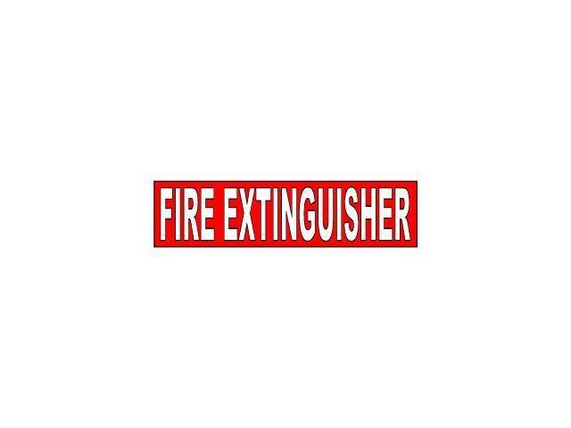 Fire Extinguisher Sticker - 8