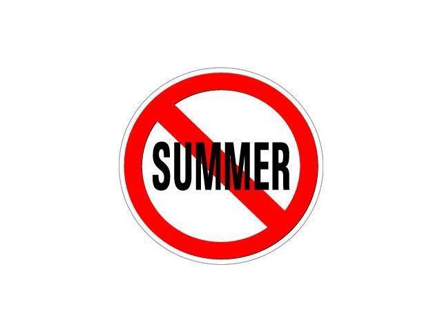 No Summer Sticker - 5