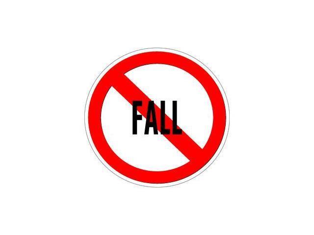No Fall Sticker - 5