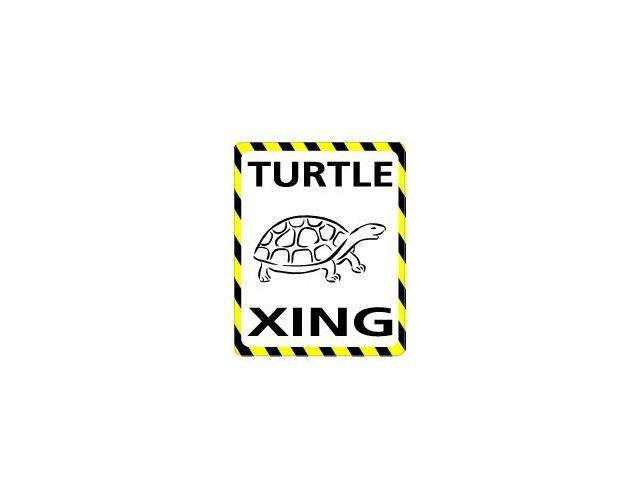 TURTLE Crossing Sticker - 4