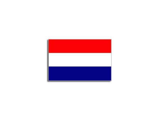 NETHERLANDS Flag Sticker - 5