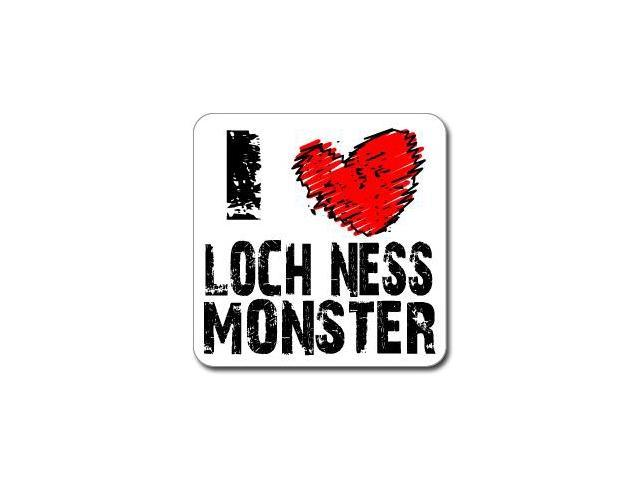 I Love Heart LOCH NESS MONSTER Sticker - 5