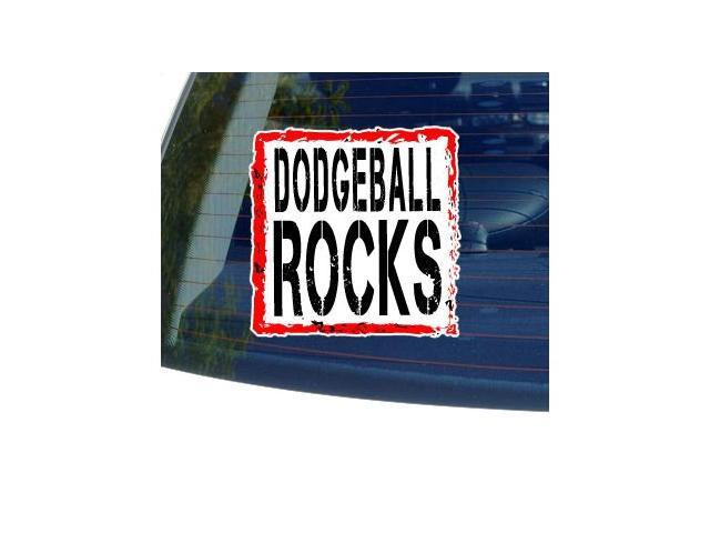 Dodgeball Rocks Sticker - 5