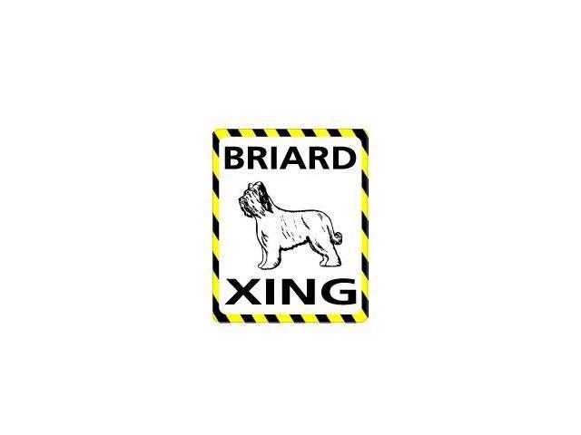 BRIARD Crossing Sticker - 4