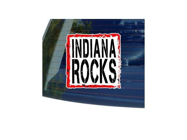 Indiana Rocks Sticker - 5