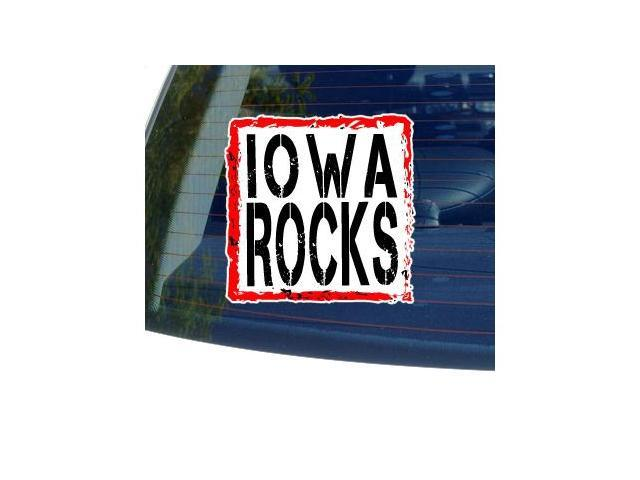 Iowa Rocks Sticker - 5