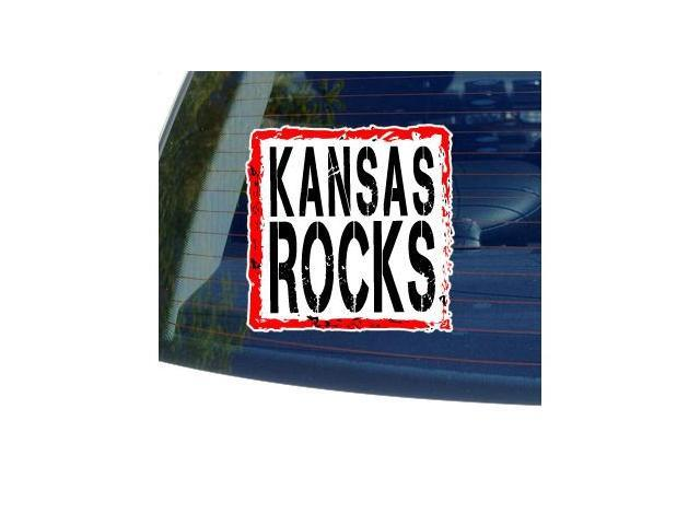 Kansas Rocks Sticker - 5